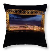 Feeling Minnesota Throw Pillow