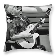 Feeling The Music Throw Pillow