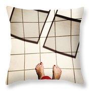 Feet Around The World #28 Throw Pillow