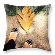 Feet Around The World #30 Throw Pillow