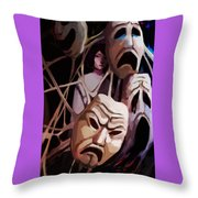 Feign Throw Pillow