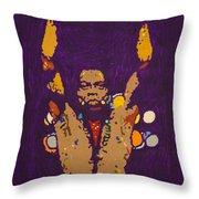 Fela Live Throw Pillow