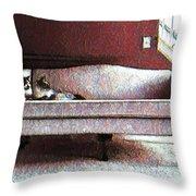 Felines Be Like... Throw Pillow