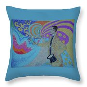Felix Feneon Throw Pillow