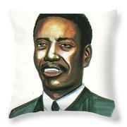 Felix Roland Moumie Throw Pillow