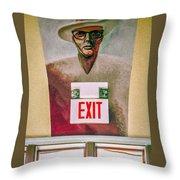 Fellini's Exit - Nola Throw Pillow