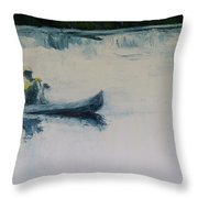 Fellow Travelers Throw Pillow