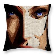 Female Expressions Lvi Throw Pillow
