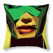 Female Expressions Xv Throw Pillow