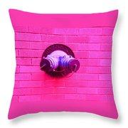 Female Pipe Throw Pillow