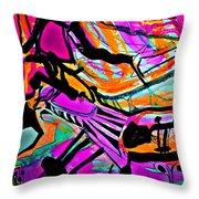 Femme-fatale-15 Throw Pillow