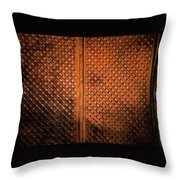 Fence #2 Throw Pillow