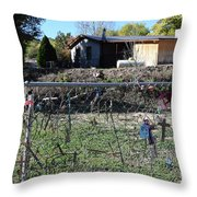 Fence Of Remembrance Throw Pillow