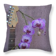 Fender Still Life Throw Pillow