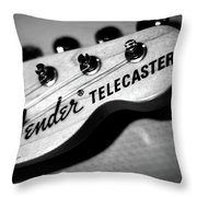 Fender Telecaster Throw Pillow