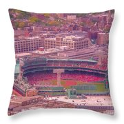 Fenway Park - Boston Throw Pillow