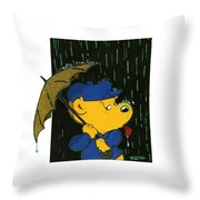 Ferald's Taste Of Rain Throw Pillow