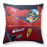 Ferdinand Alonso Throw Pillow
