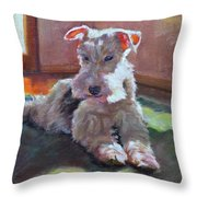 Fergie Throw Pillow
