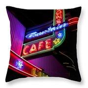 Ferguson's Diner Throw Pillow