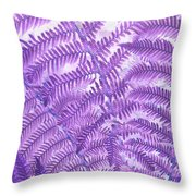Fern Passion Throw Pillow