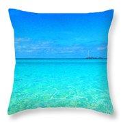 Fernandez Bay Calm Throw Pillow
