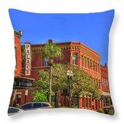 Fernandina Beach Throw Pillow