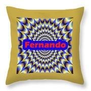 Fernando Throw Pillow