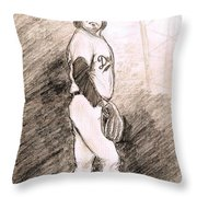 Fernando Valenzuela Throw Pillow