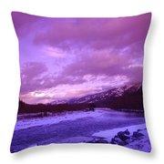 Fernie British Columbia  Throw Pillow