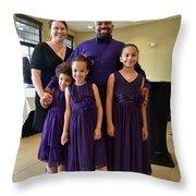 Fernon Family Throw Pillow