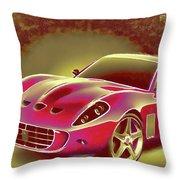 Ferrari 13 Throw Pillow