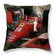 Ferrari 156/85 Throw Pillow