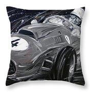 Ferrari 1958 Hawthrorn Throw Pillow