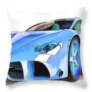 Ferrari 2 Throw Pillow
