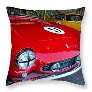 Ferrari 250 Gt Boano Throw Pillow