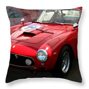Ferrari 250 Gt Swb Throw Pillow