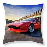 Ferrari 308 Throw Pillow
