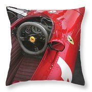 Ferrari 312 F-1 1967 Throw Pillow