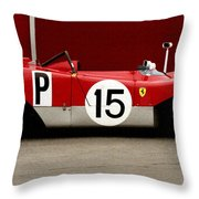 Ferrari 312 Profile 1971 Throw Pillow