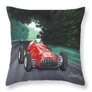 Ferrari 375 F1 Throw Pillow