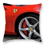 Ferrari 488gtb Throw Pillow