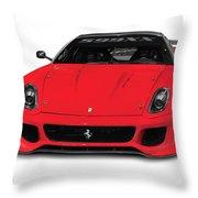 Ferrari 599xx Throw Pillow