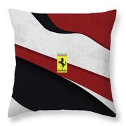 Ferrari Blend Throw Pillow