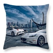 Ferrari California Throw Pillow