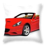 Ferrari California Throw Pillow
