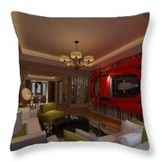 Ferrari Enzo Art Wall Throw Pillow