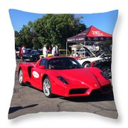 Ferrari Enzo Throw Pillow