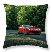 Ferrari F12 Tdf Throw Pillow