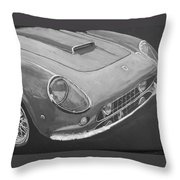 Ferrari F250 California Throw Pillow